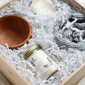 Len + McAddy Home Candle Co. custom wedding and corporate gifts